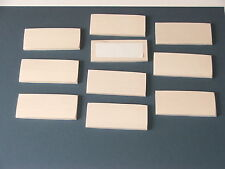 SYCAMORE BLANK NAMEPLATES-FOR PYROGRAPHY WORK-10 IN LOT-£6.99 INC POSTAGE