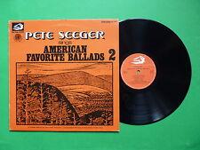 Pete Seeger Sings American Favorite Ballads Vol 2 VPA 8199 Albatros ITA 1974 LP