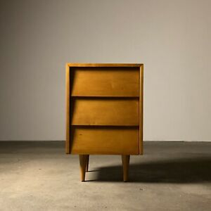 Florence Knoll Louver Front 3 Drawer