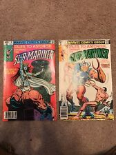 The Sub-Mariner Comic Book Lot Marvel Comics Group Aug 9 Nov 12