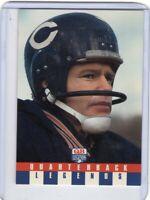 1991 QUARTERBACK LEGENDS FOOTBALL CARD # 43 - BILL WADE - CHICAGO BEARS