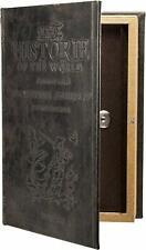 Key Lock Box Antique Storage Book Safe Decorative Hidden Vintage Gift Home Art