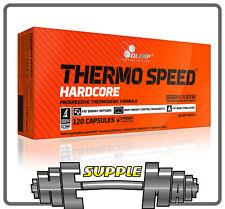 Olimp Thermo Speed Hardcore Strong Fat Burner 30 - 120 Caps Ephedrine Free