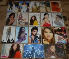 SELENA GOMEZ - 18 Magazine Postcards Collection