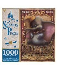 Disney Parks Dumbo Fly Elephant Signature Puzzle 1000 pcs New