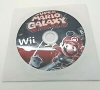 Super Mario Galaxy Nintendo Wii 2007 Disc Only Tested and Works