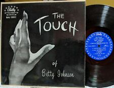 POP/TORCH/R&B VOCAL LP: BETTY JOHNSON: The Touch BALLY 12011 Don Bronstein cover