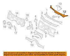 BMW OEM 11-16 550i xDrive-Cowl Panel Windshield Wiper Motor Cover 51717203124