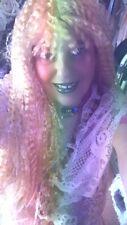 Dreadlock Wig Kinky Curly Full Twist Wig Braided Wig HELLOWEEN 31 INCH BLONDE !