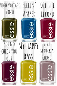 """ESSIE NAIL POLISH """"HIGH VOLTAGE VINYL"""" FALL COLLECTION 2021 *CHOOSE COLOR* NEW!!"""