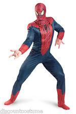 LICENSED MARVEL THE AMAZING SPIDER-MAN ADULT HALLOWEEN COSTUME MENS SZ XL 42-46