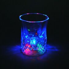 Fashion Flashing Led Wine Glass Light Up Barware Drink Cup For Party Club Bar A+