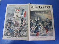 Le petit journal 1901 546 Chine incendie palais Impératrice secours