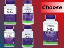 Natrol DHE 25mg 50mg 60 300 TabletS Build Muscle Burning Fat Loss Stamina Tablet