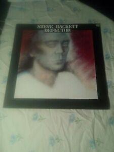 "STEVE HACKETT DEFECTOR 12"" VINYL LP CHARISMA CDS 4018"