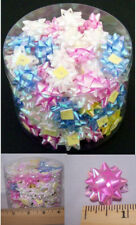 Mini Gift Wrapping Bows Self Stick Bows All Occasions Pastel 100 Pc Pack-Bow1A^*