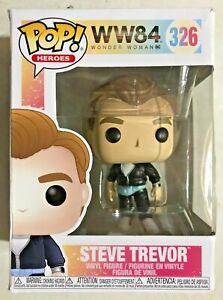 Funko Pop! Movies: Wonder Woman 1984 - Steve Trevor #326 - Damaged Box