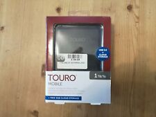 HGST TOURO Mobile USB 3 Hard Drive 1TB 0S03802 | Portable Digital Storage