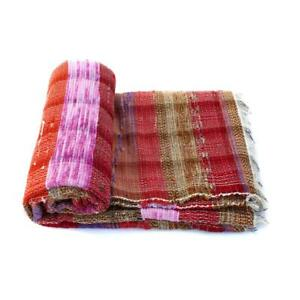 Indian Rectangular Hand Woven Chindi Rag Rug Handmade Floor Carpet Hipster Mat