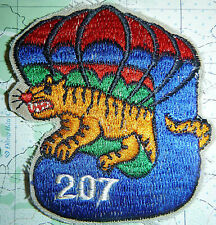 PATCH - Laos Airborne - 207th BATTALION - MAAG LAO - CIA - Vietnam War - 6181