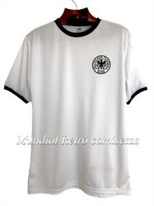 Alemania mundial 1974 Beckenbauer jersey camiseta maglia (retro) - DHL express