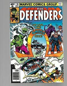 DEFENDERS #76 1979 Last Appearance Omega the Unknown NM 9.4