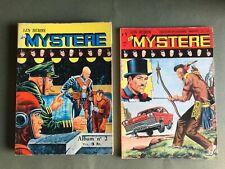 Lot Les Héros du Mystère n°1 Reliure n°2 (4,5,6)  Ed des Remparts 1967