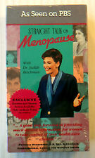 Straight Talk on Menopause ~ New VHS Video ~ PBS Dr Judith Reichman Health Movie