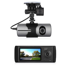 "R300 2.7"" Gps Logger Dual Lens 