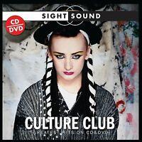 """CULTURE CLUB """"SIGHT & SOUND""""  CD+DVD NEU"""