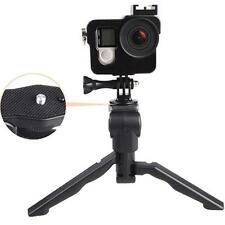 2 in1 Handheld Grip Mini Tripod Stand For DC Digital Camera Camcorder New ONE