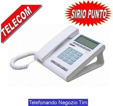 TELECOM SIRIO PUNTO Display con data ora  Visualizza numero chiamante  VivavoCE