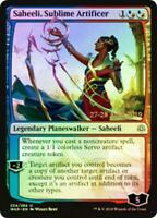 Magic the Gathering - MTG Saheeli, Sublime Artificer FOIL, War of the Spark, NM