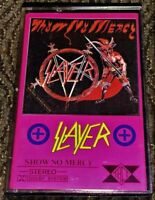 Slayer - Hell Awaits. Cassette Tape Plays Well Thrash Metal