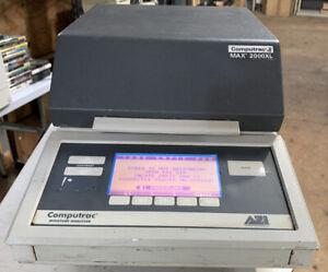 Computrac Moisture Analyzer Model Max 2000XL