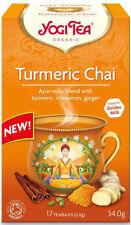 Yogi Tea Curcuma Chai 17 sacs mélange de Curcuma cannelle et gingembre