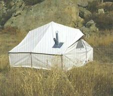 NEW!!! 12x12x3ft Outfitter Canvas Wall Tent w/Poles