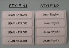 80 Printed Iron On Name Tags / Tapes / Clothes Labels / Nametapes / Name Tapes