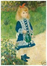 Renoir - A Girl with a Watering Can - MEDICI POSTCARDS