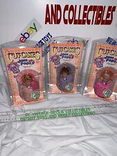 Vintage Kenner 1991 CupCakes jam pops Beri Ann/Violet Grape/Fruity Fancy Set -3