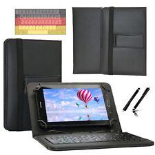 """Tastatur Case Hülle für Samsung Galaxy Tab 2 P5110 Tablet Keyboard 10.1"""" Schwarz"""