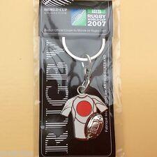 NO Pin's RUGBY coupe du monde 2007 Arthus Bertrand Porte clés Keychain Japon