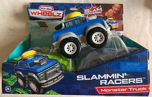 Little Tikes Wheelz Slammin' Racers Tow Truck Vehicle NIB