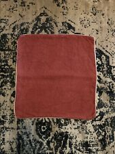 Pottery Barn Linen Pillow Cover Rust Tan 20x20
