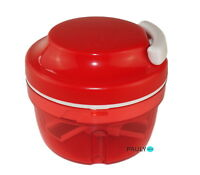 Tupperware Turbo Chef D158 ROT Zwiebelschneider Happy Mini Quick-Chef Speedy Boy