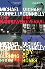 MICHAEL CONNELLY __ 4 BOOK SET __ HARRY BOSCH__BRAND NEW __B FORMAT__FREEPOST UK