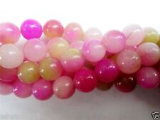 Natural 8mm pink Kunzite Round Gemstones Loose Beads 15''AAA