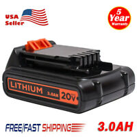 NEW 20V 3.0AH Slide Battery For Black & Decker LBXR20 LBXR2020-OPE Lithium Tools