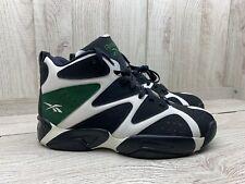Reebok Kamikaze I MID  V60362  Size 11 Men's WHT/BLCK/RACING GREEN