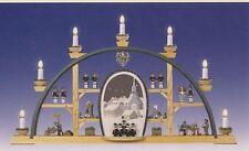 Arcata Seiffen Coro 70cm seiffen Arco luci NUOVO Erzgebirge